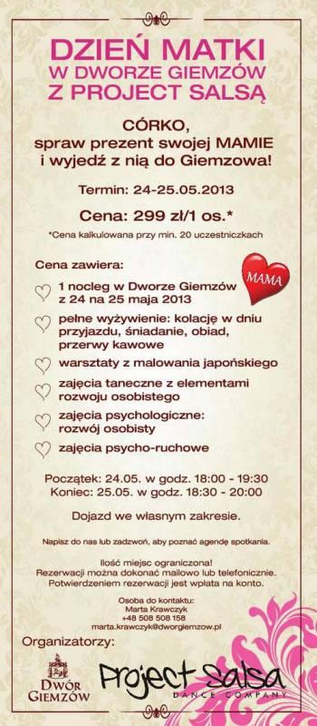 Dzień Matki w Łodzi