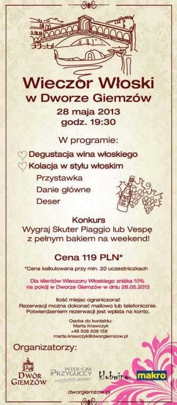 Kuchnia Włoska w Łodzi
