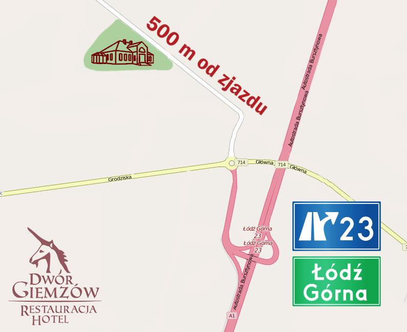 Kawiarnia Cafe Autostrada 500 M Od Zjazdu 23 W Lodzi